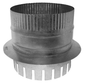 Royal Metal Products 8 in. Galvanized Steel Starting Collar in Round Duct R260F8