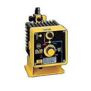 LMI LMI Roytronic™ Series B 2.5 gph 100 psi 120V PTFE, PVDF and Polyprel Metering Pump LB721499SI at Pollardwater