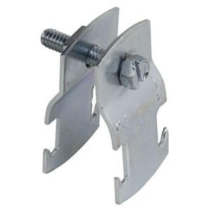 PHD Manufacturing 5 in. Electro Galvanized Intermittent Pilot Pipe Clamp P2012EGS