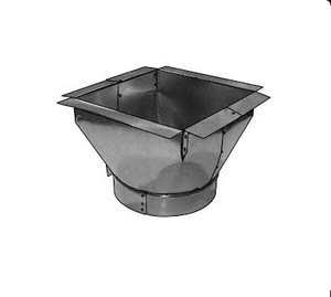 Royal Metal Products 14 in. Flange Insulation Slant Top Box with Gasket R507R6DBT148