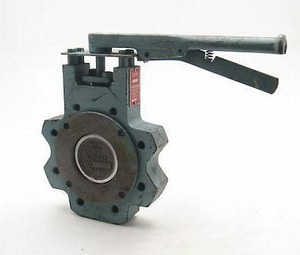 DynaCentric® 12 in. Carbon Steel TFM Gear Operator Handle Butterfly Valve WB511302S0211WG12