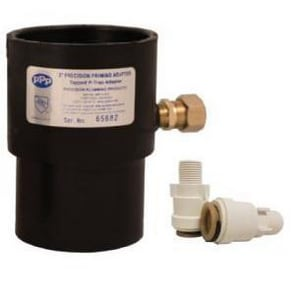 Precision Plumbing Products 4 x 1/2 in. ABS x OD Compression DWV and Reducing Schedule 40 ABS PPA Adapter PPPAA