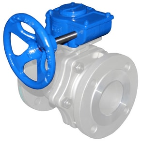 WKM 310 Series 6 in. Carbon Steel Reduced Port Flanged 150# Ball Valve WB102CS42CSGOU