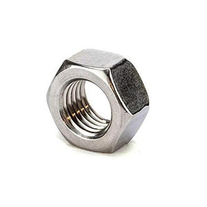 LMI LMI 32mm Stainless Steel Hex Nut for Non-Liquipro Chemical Metering Pump LIQ25628 at Pollardwater