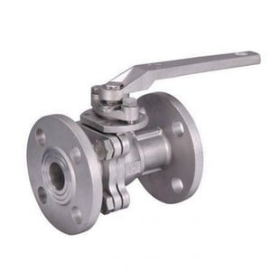 WKM 310 Series 6 in. 316 Stainless Steel Full Port Flanged 150# Ball Valve WB110S142S1GOU