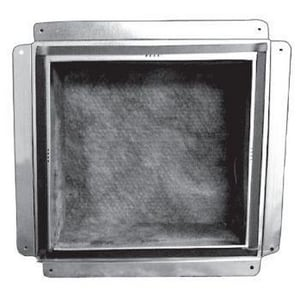 Royal Metal Products 10 x 10 in. Flange Insert Box with Gasket R526R6G1010