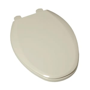American Standard Edgemere® Elongated Closed Front Toilet Seat With Cover in Linen A5257A65D222