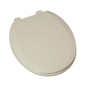 American Standard H2Optimum™ Round Closed Front Toilet Seat With Cover in Linen A5259B65C222