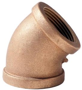 3/8 in. FNPT Brass 45 Degree Elbow BR4