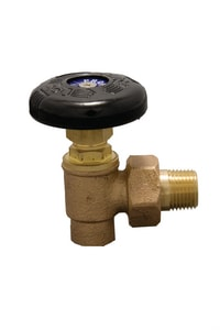 PROFLO® 3/4 in. Sweat x Male Hot Water Angle Valve PF436F