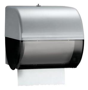 Kimberly-Clark Professional™ 10 in. Hard Roll Towel Dispenser in Smoke Grey K09746