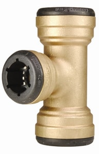 Elkhart Products Corporation 1-1/4 x 1-1/4 x 3/4 in. Copper Brass Reducing Tee CTTLFHHF