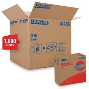 WypAll® X70 16-4/5 in. General Purpose Wipe in White (100 per Box) K41455