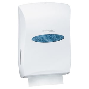 Kimberly-Clark Professional™ Universal Folded Towel Dispenser in White K09906