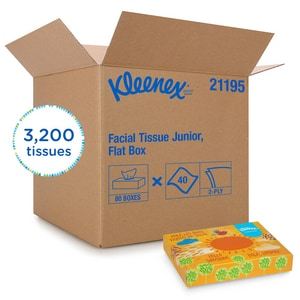 Kimberly Clark Kleenex® KLNX FACIAL TISSUE 2PLY WHIT (Case of 48) KIM21195