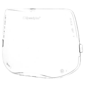 3M Speedglas™ Polycarbonate Outside Replacement Protection Plate for Speedglas™ 9100 Series Welding Helmets 3M05113589361