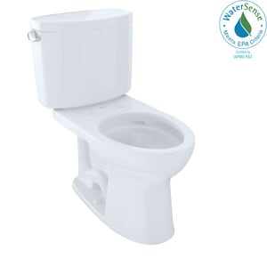 TOTO Drake® II 1.28 gpf Elongated Two Piece Toilet in Cotton TCST454CEFG01