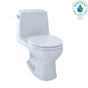 TOTO Eco UltraMax® 1.28 gpf Round One Piece Toilet in Cotton TMS853113E01