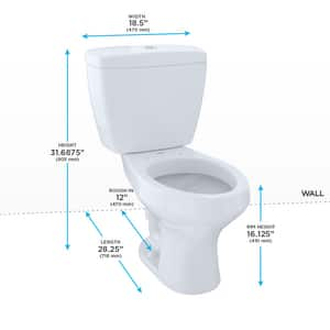 TOTO Rowan™ 1.6 gpf Elongated Toilet in Cotton TCST406MF01
