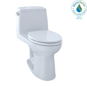 TOTO Eco UltraMax® 1.28 gpf Elongated One Piece Toilet in Cotton TMS854114EG01
