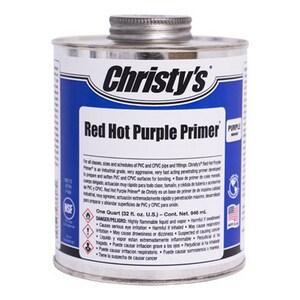 T. Christy Enterprises 1 qt Red Hot Primer in Purple CRHRHPPQT12