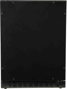 Azure Home Products 23-1/2 in. 30 Bottle Refrigerator with Solid Overlay and Door in Panel Ready AA124RO