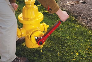 REED 22 in. Ratcheting Hydrant Wrench R02397 at Pollardwater