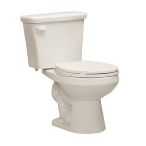 Western Pottery 1.6 gpf Round Toilet in White W822HYWH
