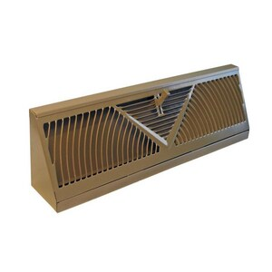 Accord Ventilation Products 15 in. Baseboard Diffuser in Brown A150BR
