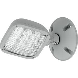 Progress Lighting 15-Light Emergency LED Flood Light in Metallic Grey PPEWLHSG82