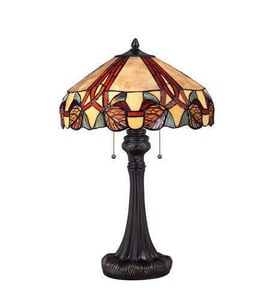Quoizel 24 in. 60W 2-Light Table Lamp in Imperial Bronze QTF1568TIB