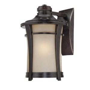 Quoizel Harmony 20-1/2 in. 150W 1-Light Medium E-26 Base Wall Lantern in Imperial Bronze QHY8413IB