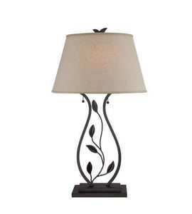 Quoizel 30 in. 100W 2-Light Table Lamp in Imperial Bronze QQ1506TIB
