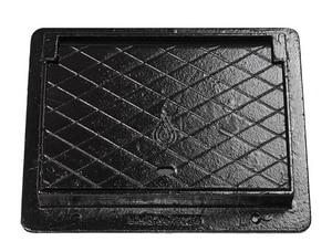 Sigma 26-1/2 x 16-1/2 in. Cast Iron Meter Box SMB1782