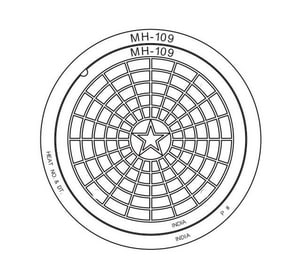 Sigma 23-1/2 in. Manhole Ring and Cover SMH109