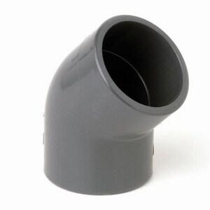 Advanced Drainage Systems N-12® HI-Q® 12 in. Plain End Straight Manifold HDPE 45 Degree Elbow A1297AN