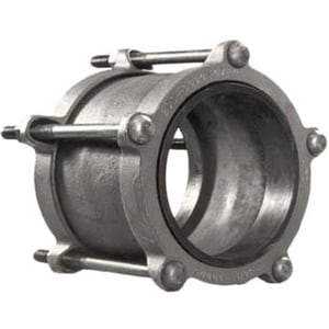 JCM Industries 2 x 5 in. IPS Ductile Iron Bolted Coupling 2.34 - 2.63 in. J2100250