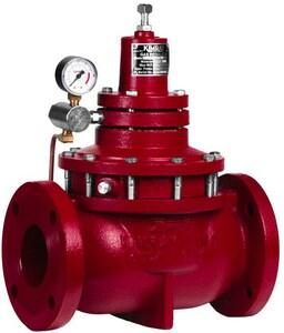 Kimray 3 in. Flanged Straight 175 psi Ductile Iron Back Pressure Gas Regulator Valve KAAE