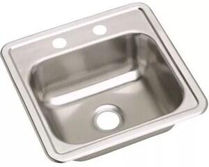 Dayton® 3-Hole 1-Bowl Kitchen Sink DDE115153