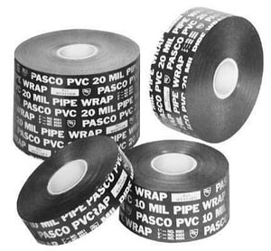 Pasco 2 x 100 in. Roll 10 mil. Metal Lath Pipe Wrap Tape P9052R