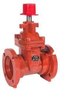 M&H Valve Style 4500 16 in. Ductile Iron Stainless Steel Operating Nut Butterfly Valve M450001LAOR