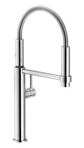 Franke Pescara Single Handle Pull Down Kitchen Faucet in Polished Chrome FFF4400
