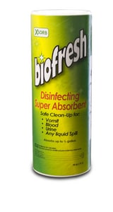 Impact Absorbent Technologies 13 in. Absorbent with Disinfectant (Case of 9) IXN09PC9