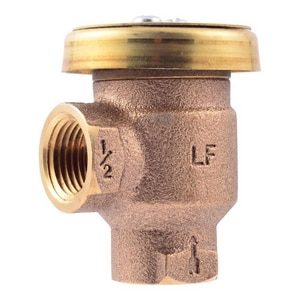 Cash Acme V-101 FNPT Bronze 1 in. 125 psi BFP Vacuum Breaker C173850000LF