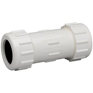 Matco-Norca 1/2 in. IPS Straight PVC Compression Coupling M400T03