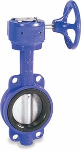 Crane Valve/Crane Energy Flow Sol Series 200 10 in. Ductile Iron Buna-N Gear Operator Handle Butterfly Valve CCV04431510