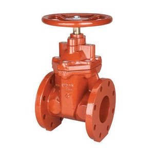 10 Cast Iron MJXFLG NRS GATE Valve RW L/ASSY M200FJ15W at Pollardwater