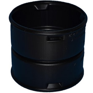 Advanced Drainage Systems N-12® 2 in. Snap Corrugated Straight HDPE Single Wall Coupling A12AA