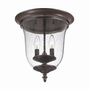 Acclaim Lighting 2-Light Outdoor Ceiling Light in Architectural Bronze A9305ABZ