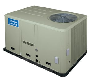 American Standard HVAC Precedent™ 5 Tons 208/230V 63100 Btu/h Convertible Commercial Packaged Gas or Electric Rooftop Unit AYSC060G3RMA0000